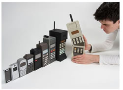 Evolution of cell telephones